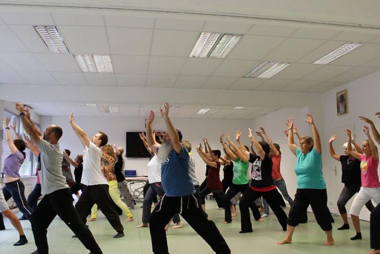 In der Qi Gong Ausbildung der Medizin und Lebenskunst Akademie lernen und trainieren wir in Gruppen unter Anleitung erfahrener QI Gong Meister